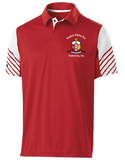 Kappa Coat of Arms Striped Polo
