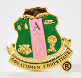 AKA Shield Lapel Pin - Alpha Kappa Alpha