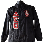 Delta Greek Lettered Crossing Line Jacket - Delta Sigma Theta