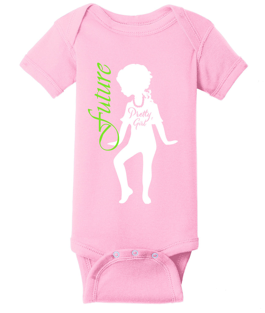 Future Pretty Girl Onesie - Alpha Kappa Alpha