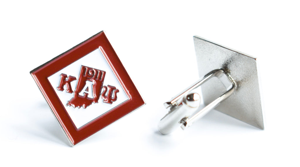 Kappa Alpha Psi Diamond Cuff Links