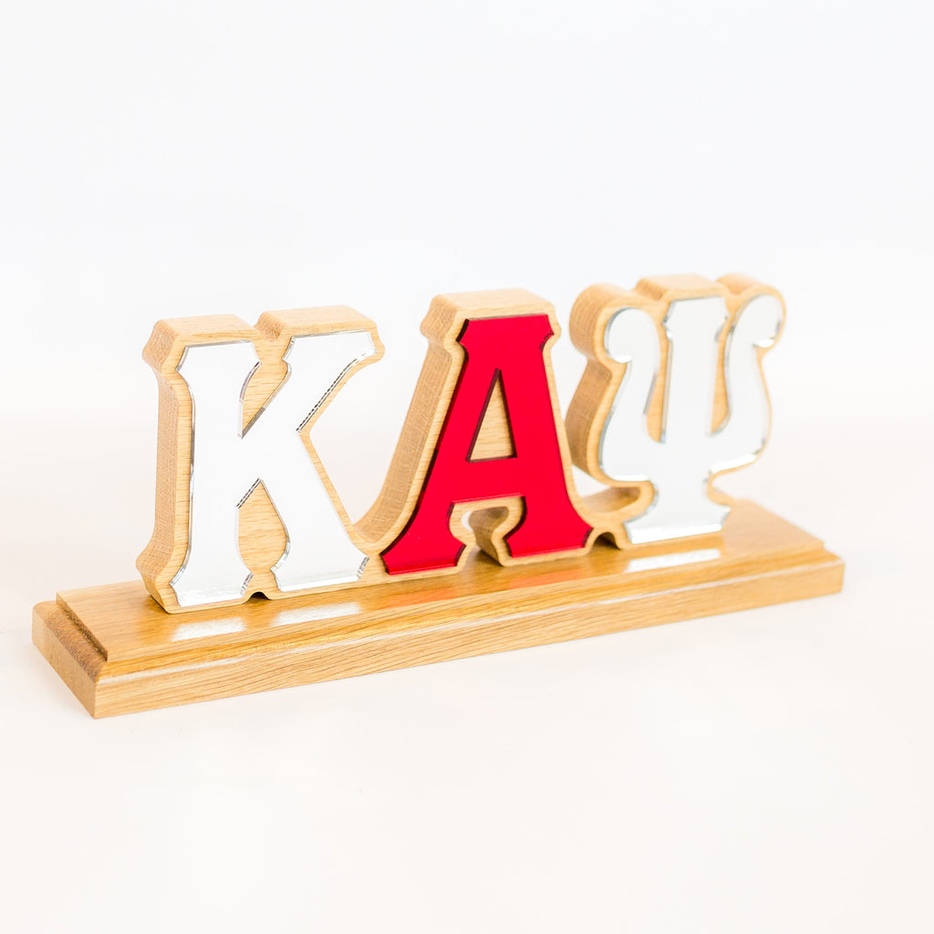 Kappa Alpha Psi Desk Top Greek Letters