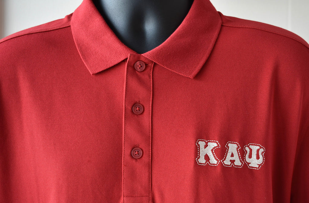 Kappa Alpha Psi - 3 Letter Polo