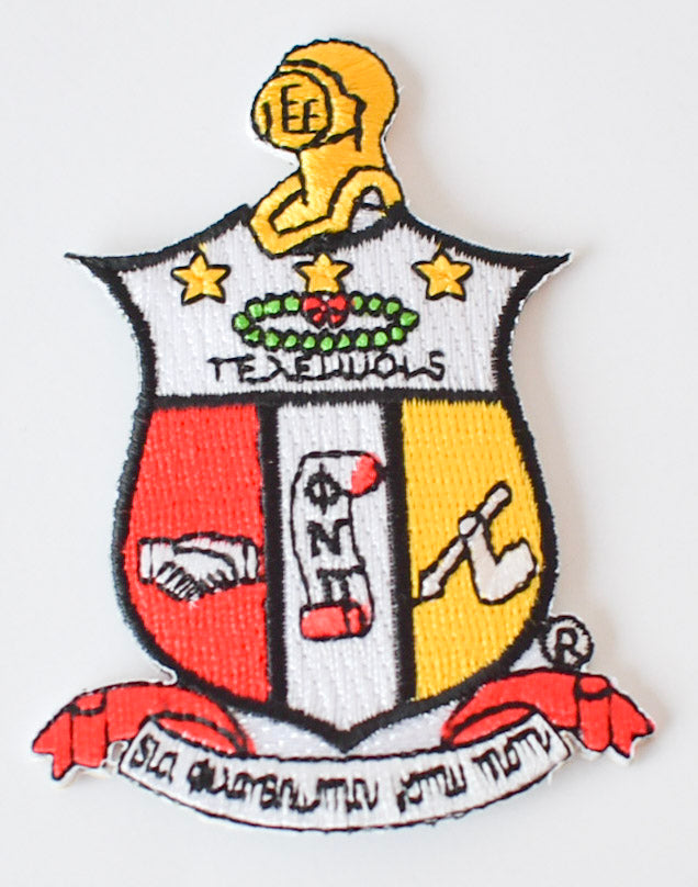 "Kappa 3"" Coat of Arms Patch- Kappa Alpha Psi"
