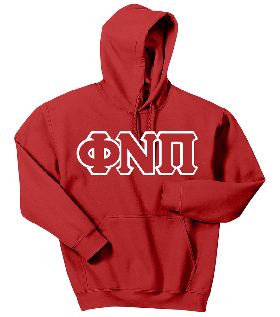 Phi Nu Pi Pull Over Hoodie Embroidered Sweatshirt - Kappa Alpha Psi