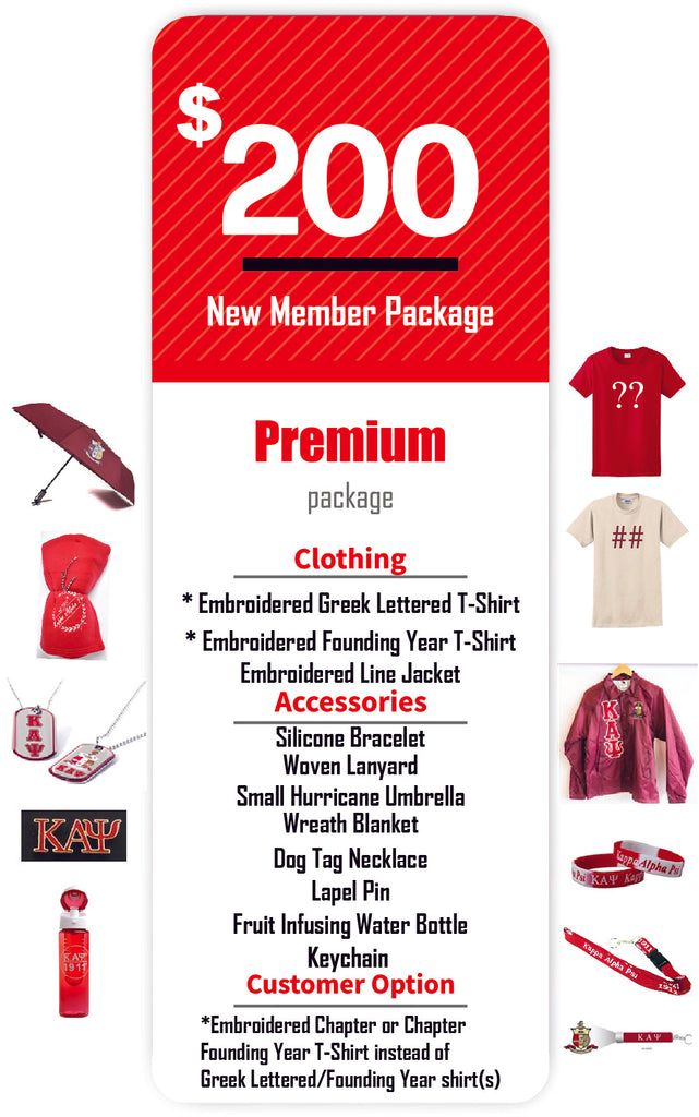 Kappa Alpha Psi New Member Package