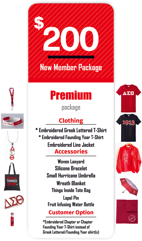 Delta Sigma Theta New Member Package
