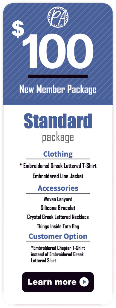 Zeta Phi Beta New Member Package