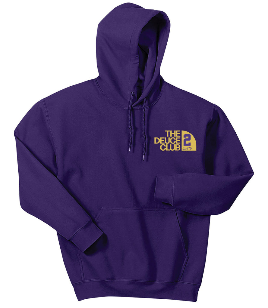 Omega Club Series Embroidered Hoodie - Omega Psi Phi