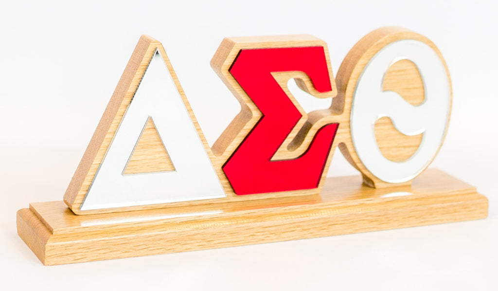 Delta Sigma Theta Desk Top Greek Letters