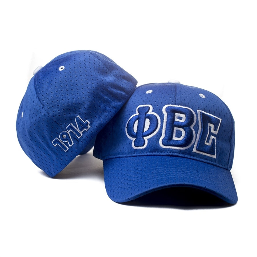 Phi Beta Sigma 3 Letter Flex Fit Hat