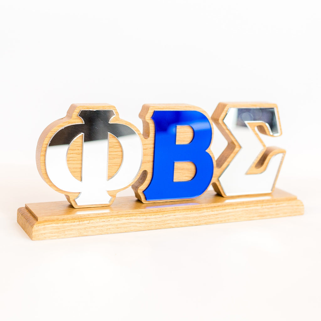 Phi Beta Sigma Desk Top Greek Letters