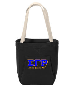 Sigma Gamma Rho Fleece Tote
