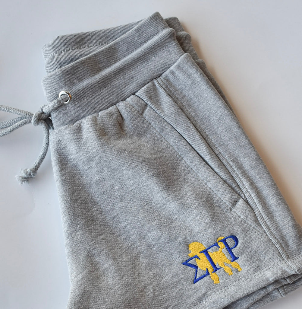 SGRho Poodle Fleece Shorts - Sigma Gamma Rho