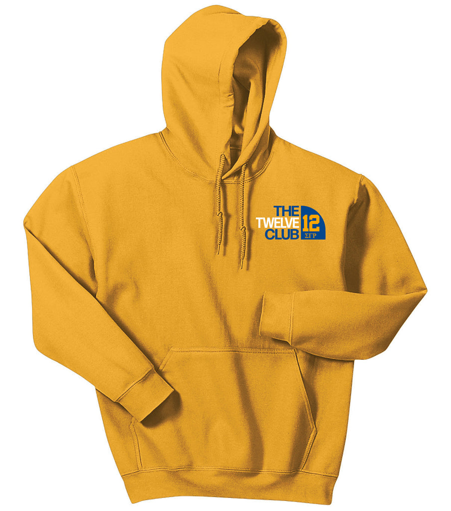 SGRho Club Series Embroidered Hoodie - Sigma Gamma Rho