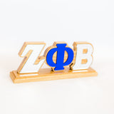 Zeta Phi Beta Desk Top Greek Letters