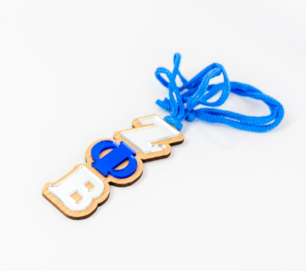 Zeta Phi Beta Mirror Hang / Necklace