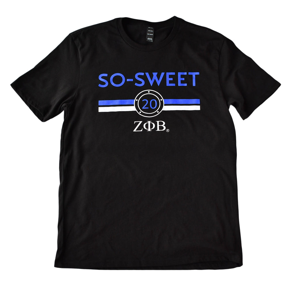 Zeta Phi Beta Sorority Stripes T-Shirt