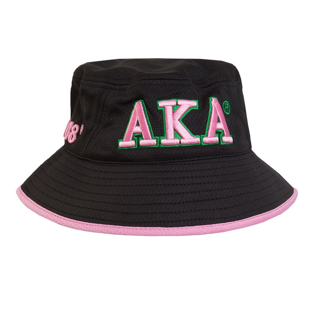 AKA Floppy Bucket Hat - Alpha Kappa Alpha