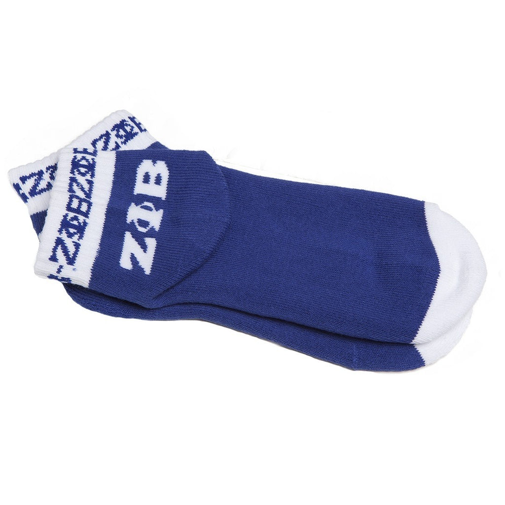 Zeta Ankle Socks- Zeta Phi Beta