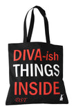 Delta Things Inside Tote- Delta Sigma Theta