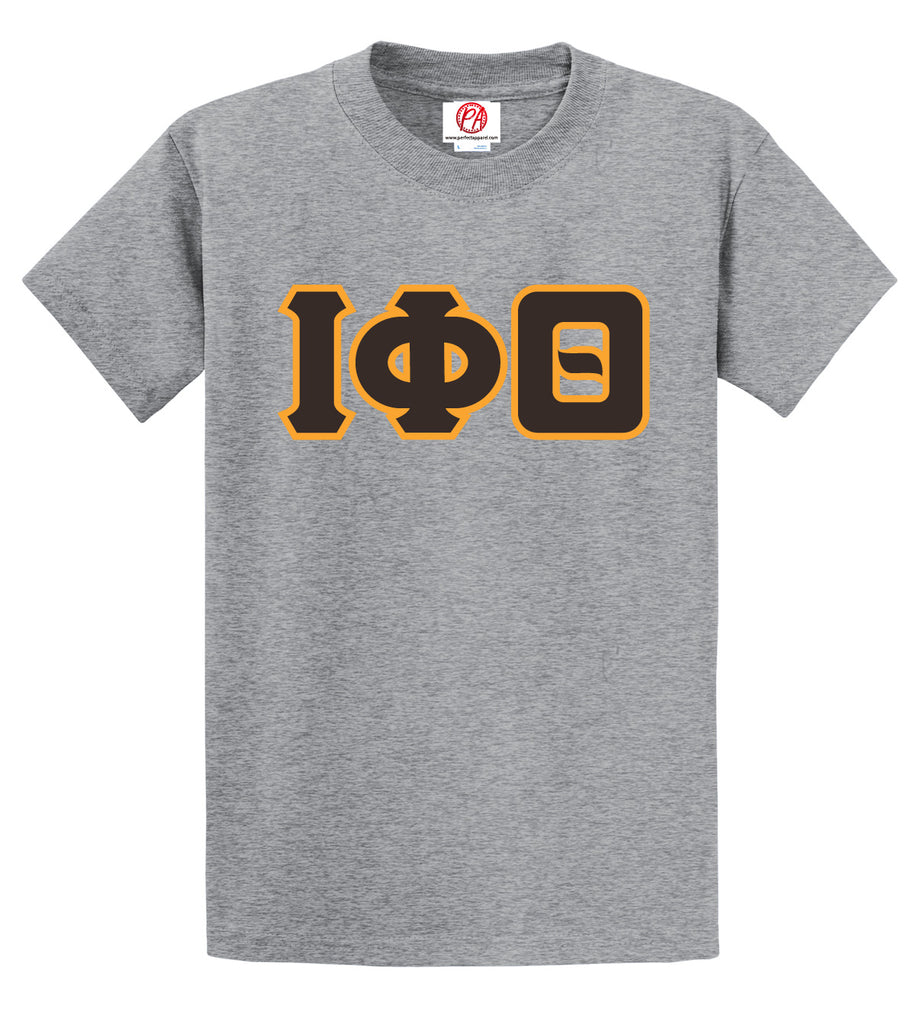 Iota Greek 3 Letter Crossing T-Shirt - Iota Phi Theta