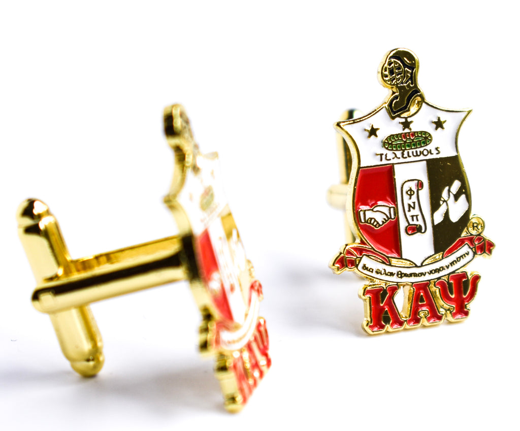 Kappa Coat Of Arms Cuff Links - Kappa Alpha Psi