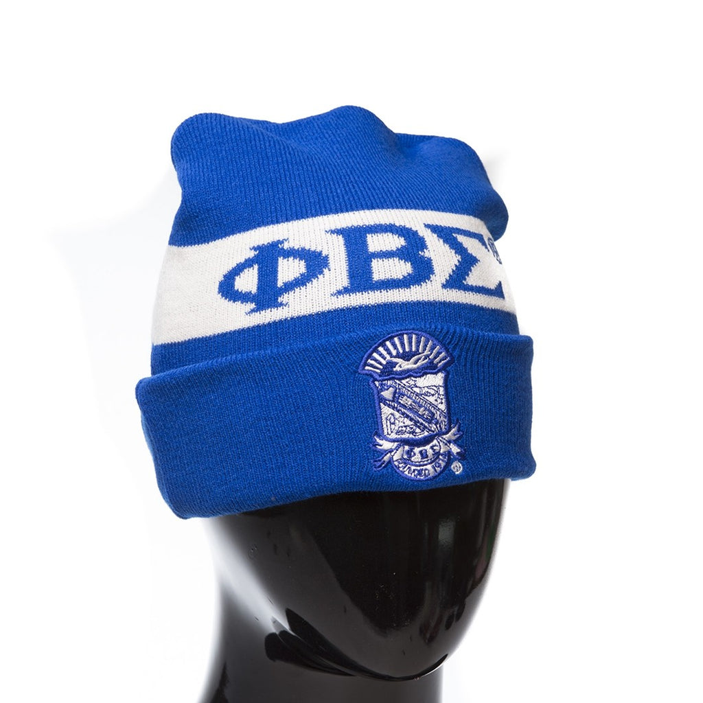 Phi Beta Sigma Knit Beanie Hat