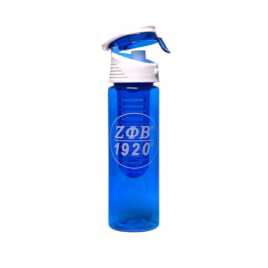 Zeta Phi Beta Fruit Infusing Water Bottle