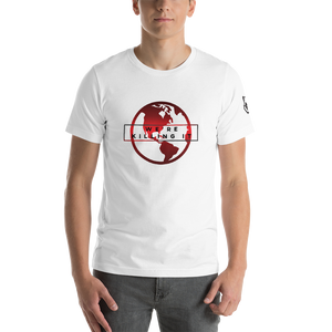 Herren T-Shirt - We are Killing it - Dezentprint Waschbär TShirt Natur Tier Kleidung