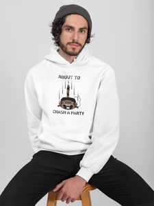 Waschbär Herren Pullover - About to crash a party - Dezentprint Waschbär TShirt Natur Tier Kleidung