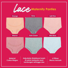 Load image into Gallery viewer, Lace Maternity Panties (1 Set-3 Pieces-Random Color)