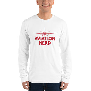 Aviation Nerd - Long Sleeve T-Shirt