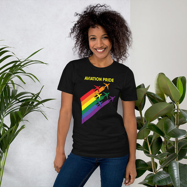 Aviation Pride - Short-Sleeve Unisex T-Shirt