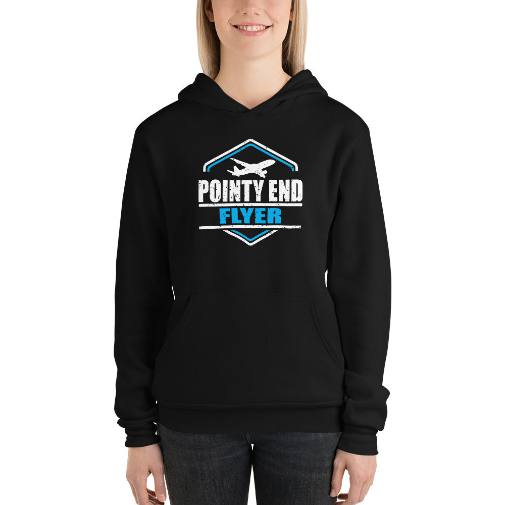 Pointy End Flyer Unisex Hoodie