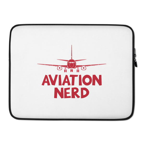 Aviation Nerd Laptop Sleeve