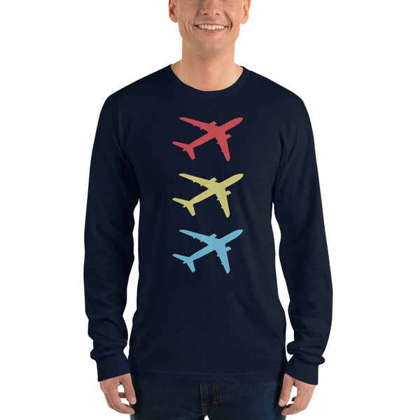 Aircraft Trio - Long Sleeve T-Shirt