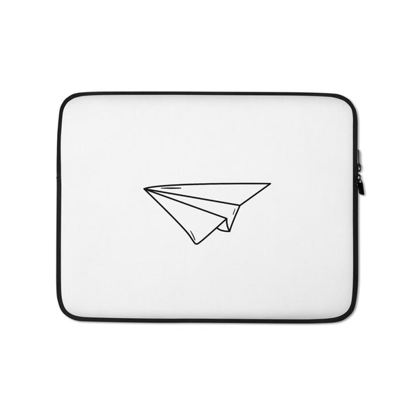 Paper Plane Laptop Sleeve