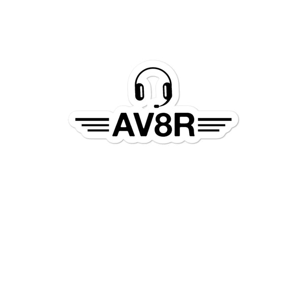 Bubble-free stickers - AV8R