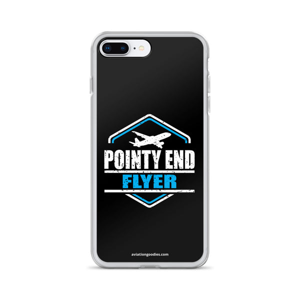 Pointy End Flyer Black - iPhone Case - all sizes