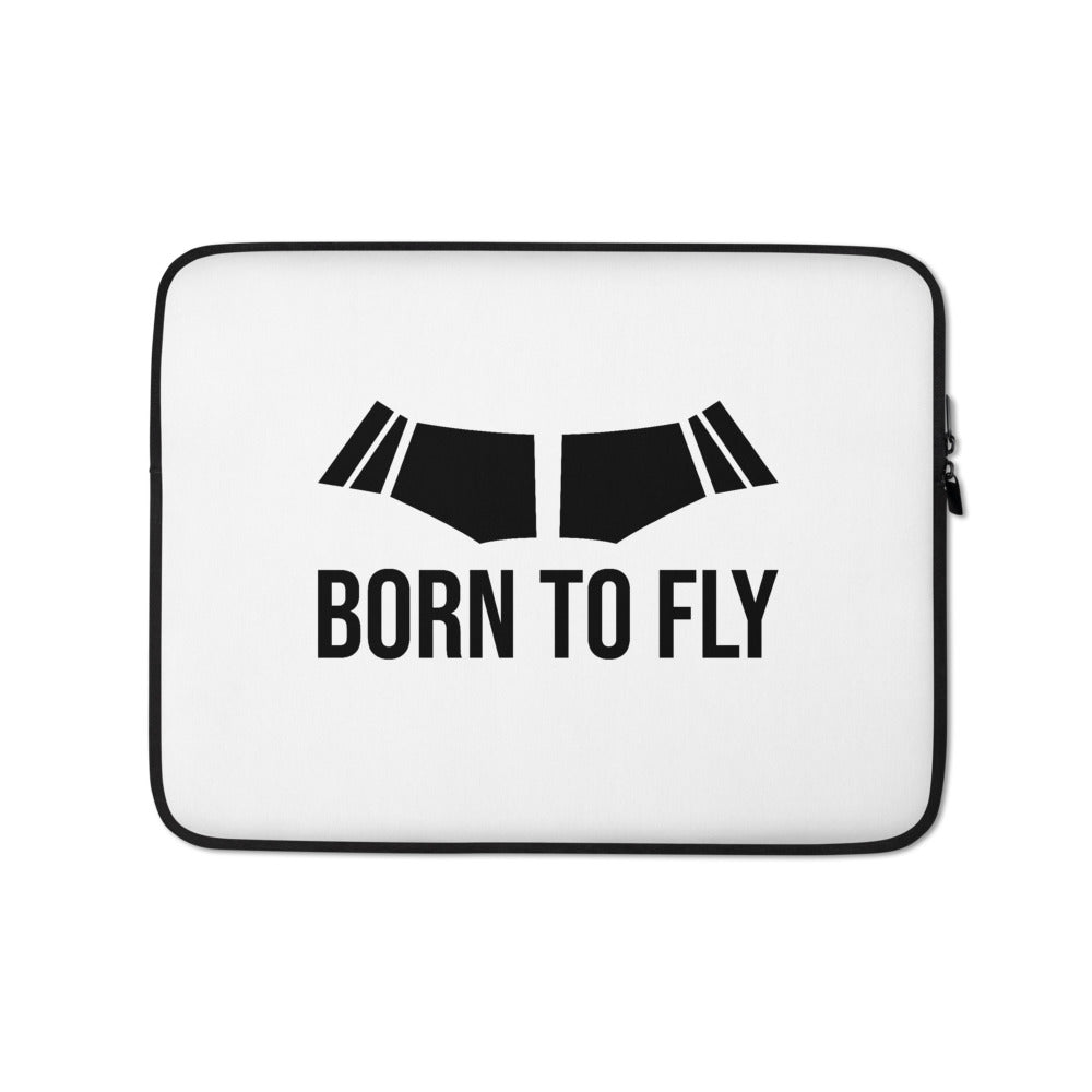 Born To Fly Laptop Sleeve