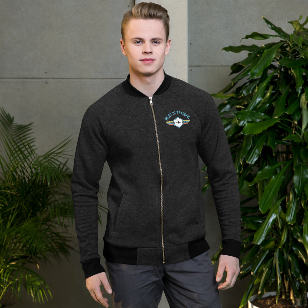 Pilot In Training - Zip Up Soft Jacket