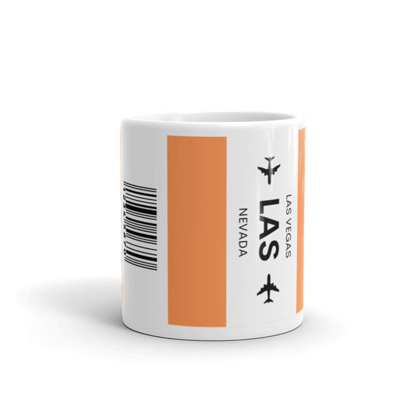 LAS (Las Vegas Airport) Luggage Tag Tea and Coffee Mug copy copy