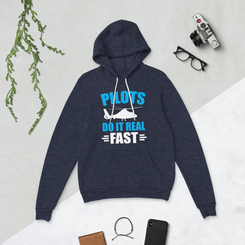 Pilots Do It Real Fast Unisex Hoodie