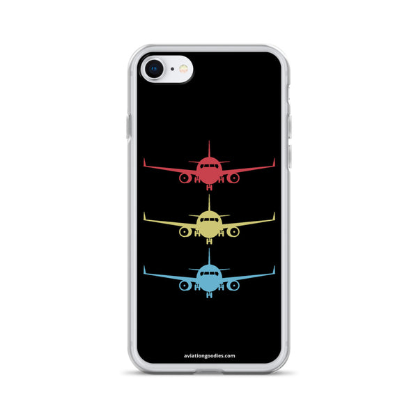 Aircraft Stacked - iPhone Case - all sizes