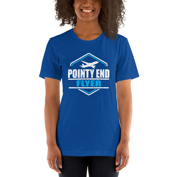 Pointy End Flyer (dark color options) - Short-Sleeve Unisex T-Shirt