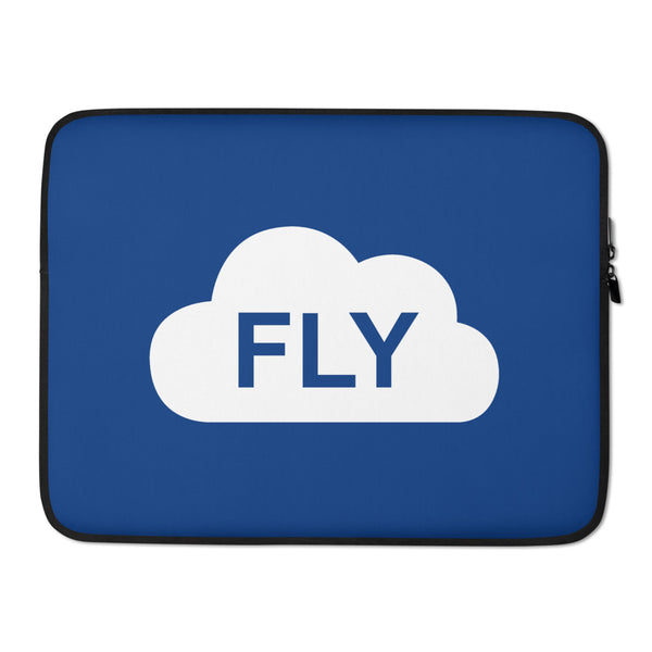 FLY Blue Laptop Sleeve