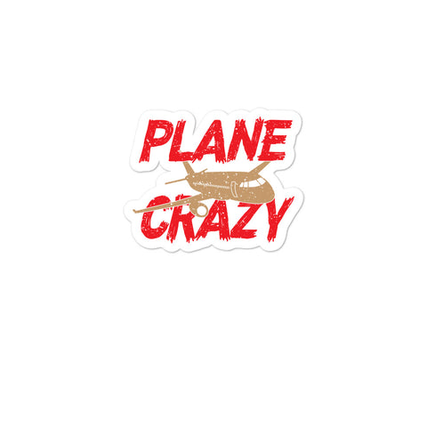 Bubble-free stickers - Plane Crazy