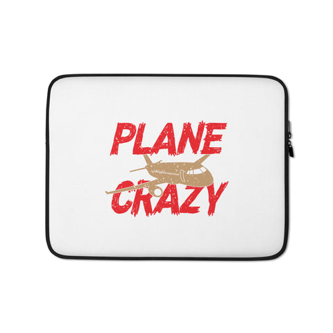 Plane Crazy Laptop Sleeve