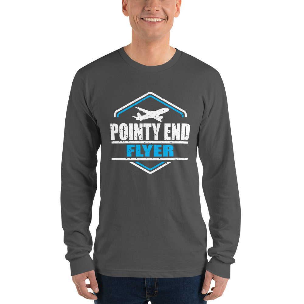 Pointy End Flyer - Long sleeve t-shirt